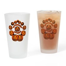 Pumpkin Power Drinking Glass