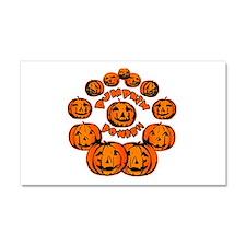 Pumpkin Power Car Magnet 20 x 12