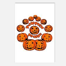 Pumpkin Power Postcards (Package of 8)