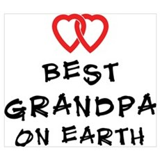 Best Grandpa On Earth Poster