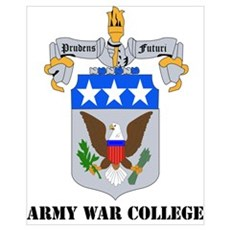 DUI - Army War College with Text Poster