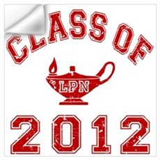 Class Of 2012 LPN Wall Decal