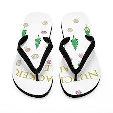 Nutcracker Graffiti Flip Flops