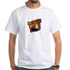 Fire Fighting Woman White T-shirt