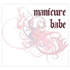 Manicure Babe Poster