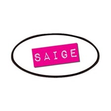 Saige Punchtape Patches