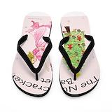 Nutcracker Flip Flops