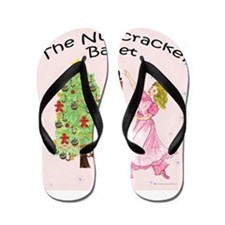 Funny Nutcracker Flip Flops