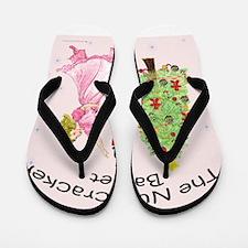 Cute Nutcracker Flip Flops