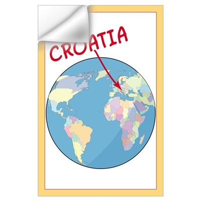 Where is Croatia Wall Decal
