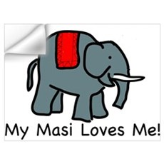 Masi Loves Me Wall Decal