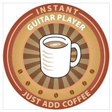 Instant Guitar Player Poster