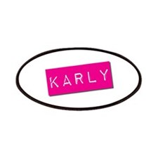 Karly Punchtape Patches