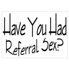 Referral Sex Poster