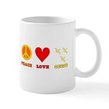 Peace Love Geese Mug