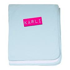 Karli Punchtape baby blanket