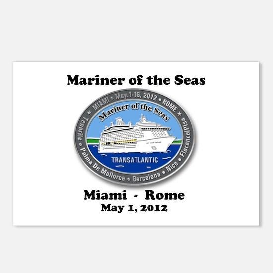 Cute Mariner ta may 1 2012 Postcards (Package of 8)