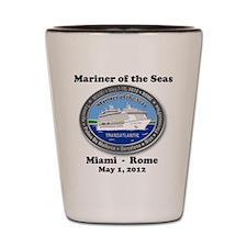 Unique Royal caribbean cruise Shot Glass