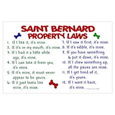 Saint Bernard Property Laws 2 Poster