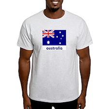 Australia Ash Grey T-Shirt
