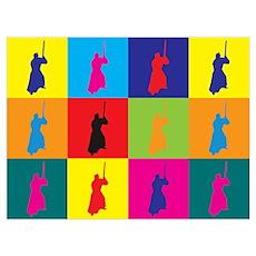 Iaido Pop Art Poster