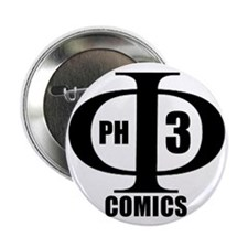 "Phi3 COMICS 2.25"" Button (100 pack)"