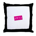 Arya Punchtape Throw Pillow