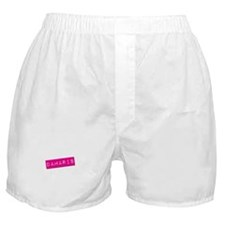Damaris Punchtape Boxer Shorts