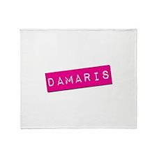 Damaris Punchtape Throw Blanket