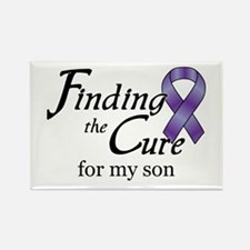 Cure for Son Rectangle Magnet
