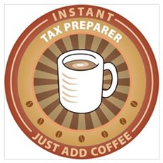 Instant Tax Preparer Poster