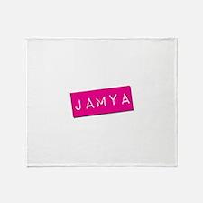 Jamya Punchtape Throw Blanket