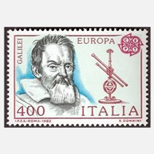 Galileo 1984 Stamp