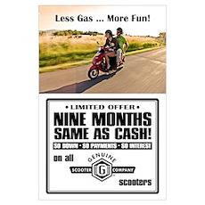 Nine Months Same As Cash Poster