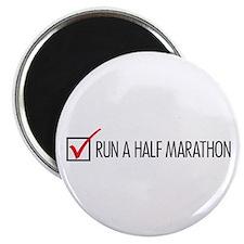 Run a Half Marathon Check Box Magnet