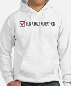 Run a Half Marathon Check Box Jumper Hoody