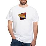 Firefighter Husband White T-Shirt