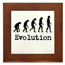 Darwin Evolution Design Framed Tile