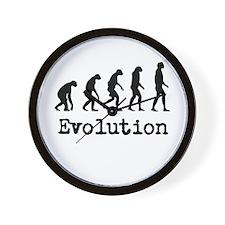 Darwin Evolution Design Wall Clock