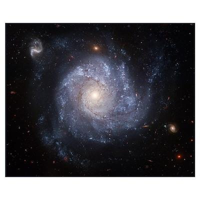 Spiral Galaxy II Poster