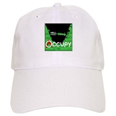 occupy wall street 04 Baseball Cap