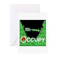 occupy wall street 04 Greeting Card