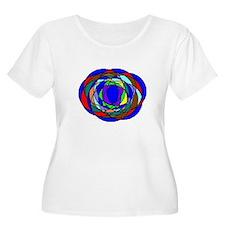 Array Of Colors Plus Size T-Shirt
