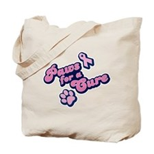 Paws for a Cure Tote Bag