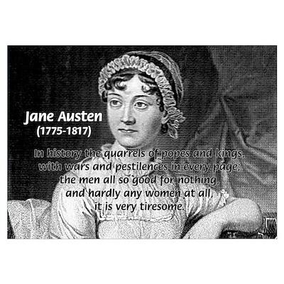 Women in History Jane Austen Poster