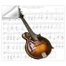 Mandolin and Sweet Music Wall Decal
