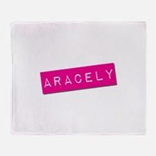 Aracely Punchtape Throw Blanket