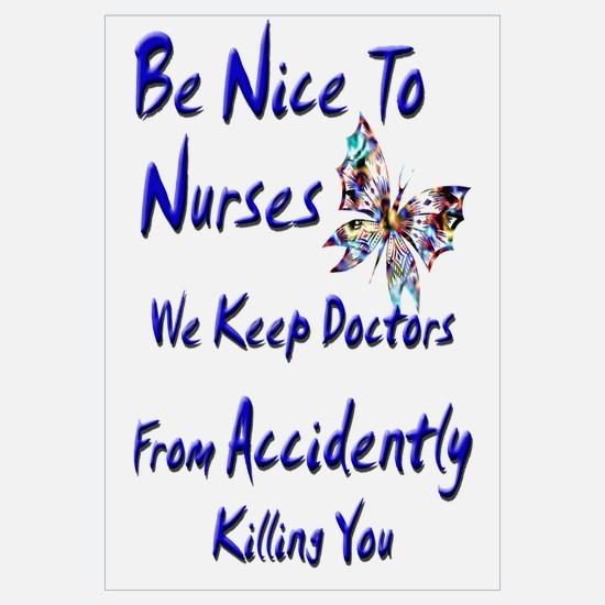 Funny School nursing Wall Art