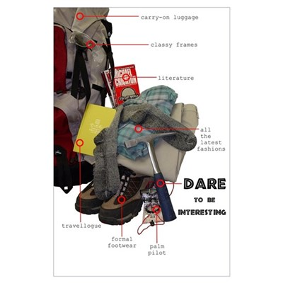 Dare to be Interesting Poster