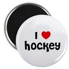 I * Hockey Magnet